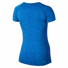 Load image into Gallery viewer, Nike Women's Dri-Fit Knit Short Sleeve Running Top - Deep Royal Blue/Photo Blue