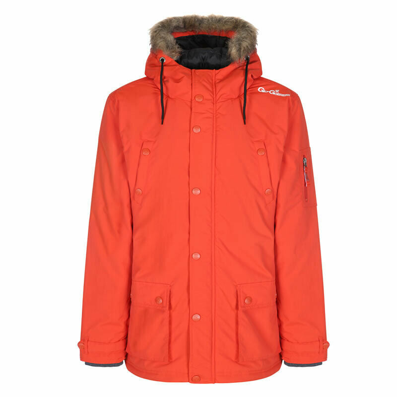 Columbia Marquam Peak Parka Jacket - Red Spark