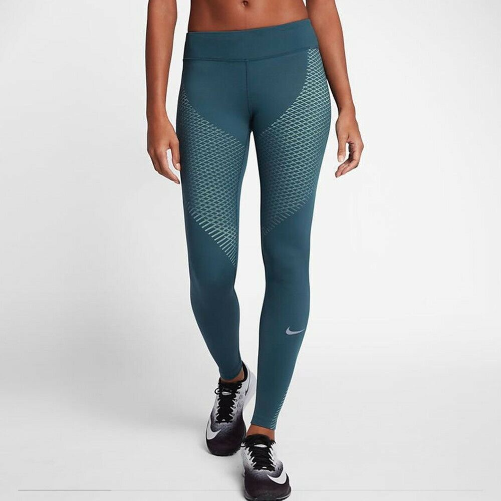 Nike Women's Zonal Strength Running Tights - Space Blue
