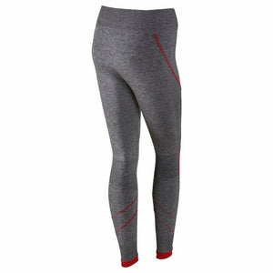 NIKE PRO HYPERWARM WOMENS RUNNING TIGHTS SIZE LARGE TRAINING LUX GREY RRP £80
