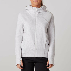 Nike Women's Tech Fleece Full Zip Hoodie - Birch Heather