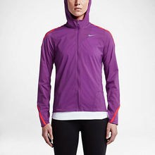 Load image into Gallery viewer, Nike Women's Impossibly Light Running Jacket - Cosmic Purple/Light Crimson