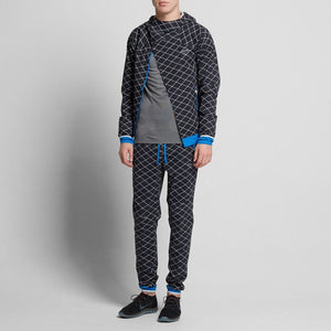 Nike X Undercover Gyakusou Shield Runner Pants - Black/Blue Spark