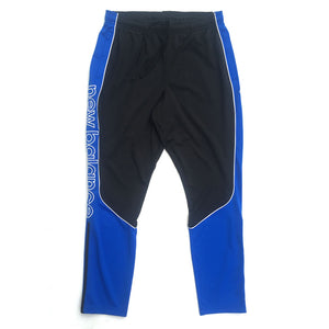 New Balance Men's Zip Training Pants - Black/Light Cobalt