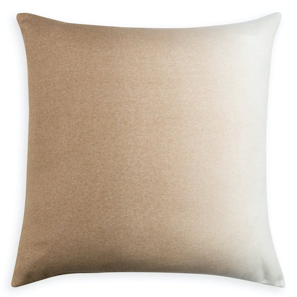 PILLOW IN DIP DYED - CAMEL