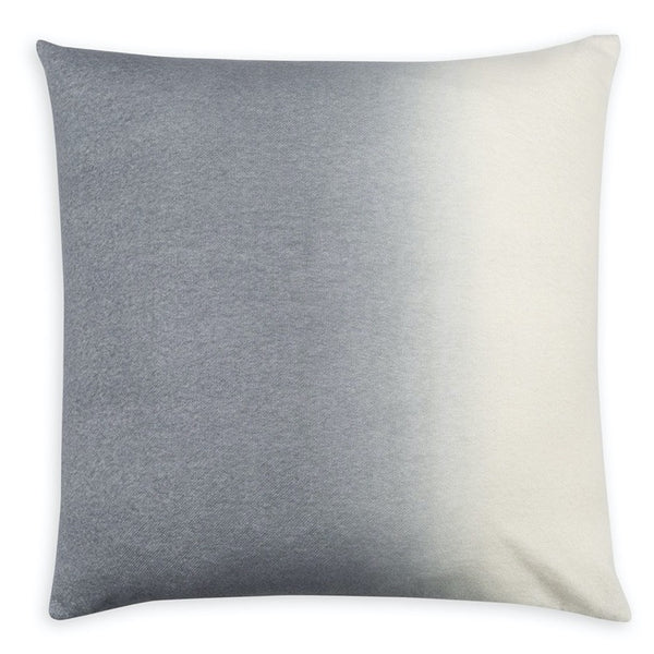 PILLOW IN DIP DYED - LIGHT GREY