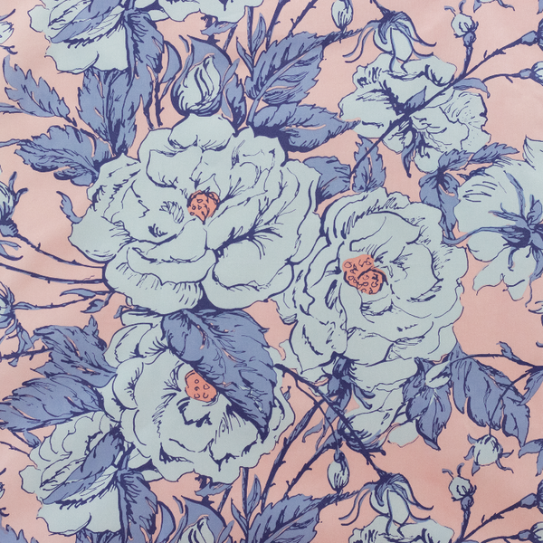 CHANTILLY MAXIMALIST - PINK & BLUE