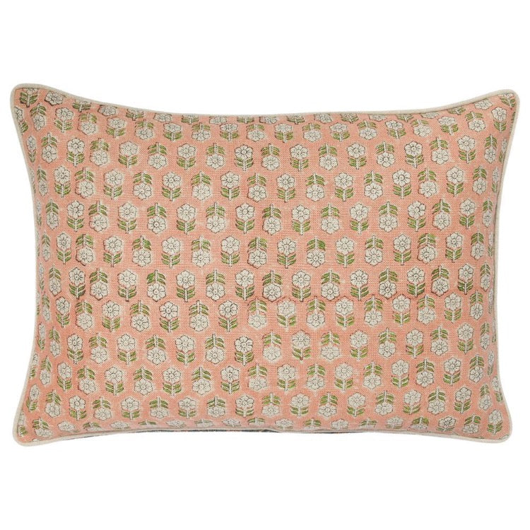 PILLOW IN TULSI - CORAL
