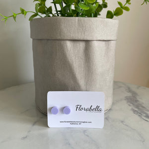 Small studs - Pastel Purple