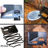 13 in 1 survival Gear kit Set Outdoor Camping Travel Survival kit - camping Victorious Active