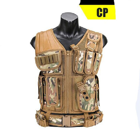CP Military Tactical Hunting Vest With Holster