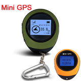 Handheld Mini GPS Navigation tourist Compass Keychain