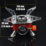 Powerful Wind proof outdoor gas burner - camping Victorious Active