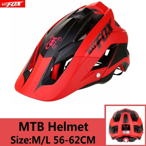 Red Cycling Road Mountain Bike Helmet