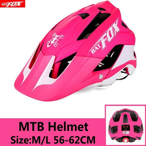 Pink Cycling Road Mountain Bike Helmet
