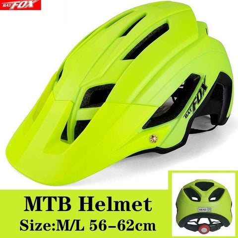 Lime Cycling Road Mountain Bike Helmet