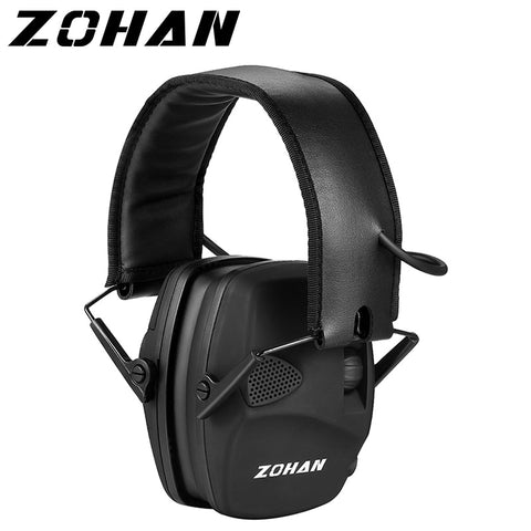 ZOHAN Electronic Shooting Ear Protection Sound Amplification Ear Muffs