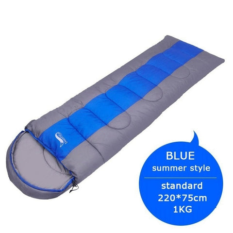 Victorious Active Blue Summer Standard Camping Sleeping Bag