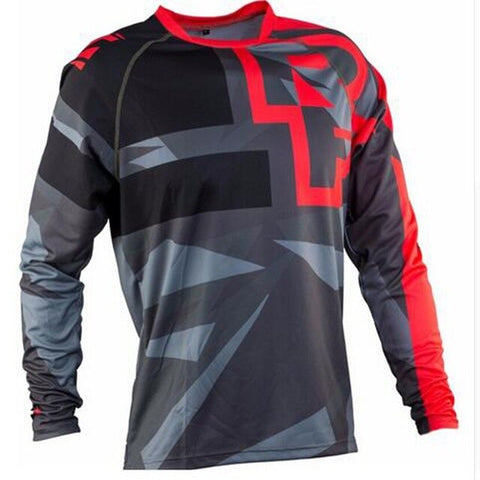 Red and Grey RACE FACE Mountain Bike / off road MTB Jersey