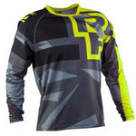 Lime and Grey RACE FACE Mountain Bike / off road MTB Jersey