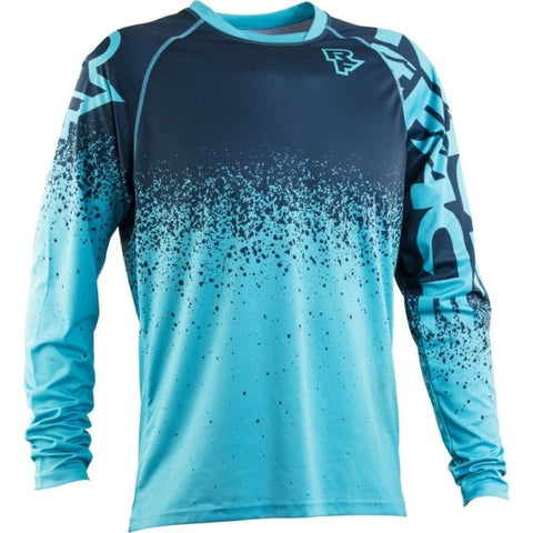 Cyan RACE FACE Mountain Bike / off road MTB Jersey