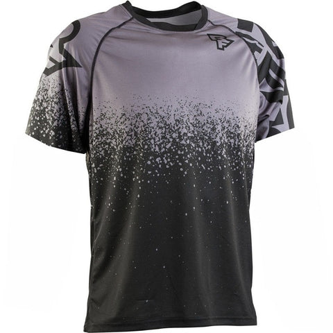 Grey and Black T-Shirt RACE FACE Mountain Bike / off road MTB Jersey