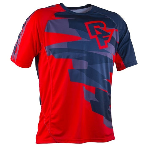 Red and Blue RACE FACE Mountain Bike / off road MTB Jersey - cycling Victorious Active