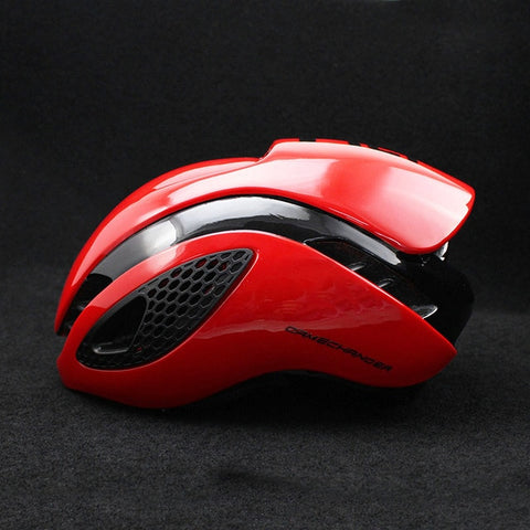 Red 300g Aero TT Bike Helmet