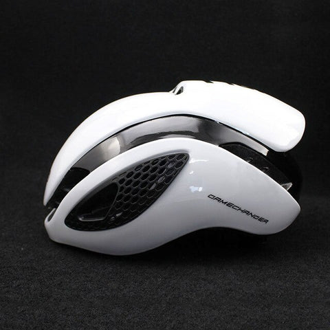 White 300g Aero TT Bike Helmet