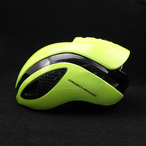 Lime 300g Aero TT Bike Helmet - cycling Victorious Active