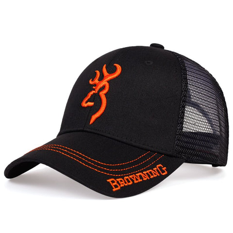 BROWNING.style embroidery baseball cap