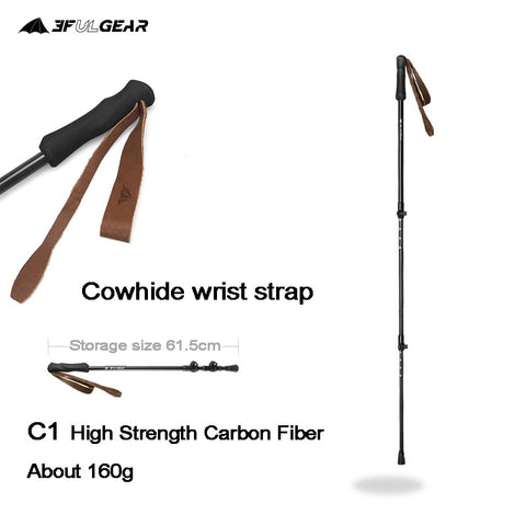 Ultralight adjustable Trekking Pole Walking stick