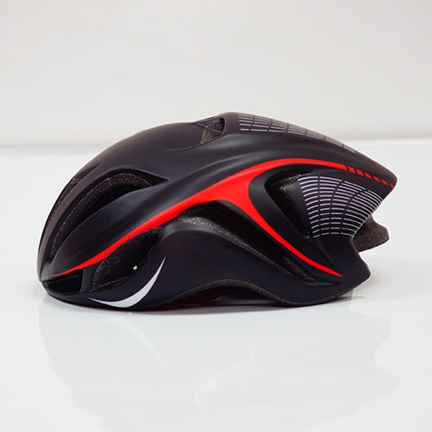 Black and Red ULTRALIGHT EPS CYCLING HELMET FOR ROAD AND MTB MOUNTAIN BIKE CYCLING - cycling