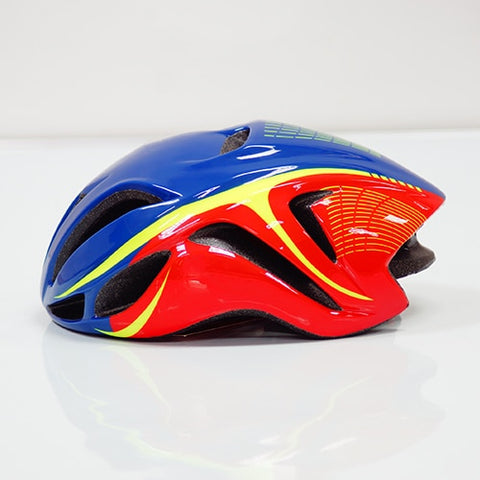 Red and Blue ULTRALIGHT EPS CYCLING HELMET FOR ROAD AND MTB MOUNTAIN BIKE CYCLING - cycling