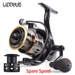 Victorious High speed Fishing Reel HE1000-7000 Drag 10kg Reel Fishing