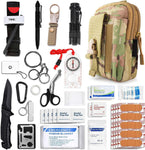 Emergency Survival Gear Military Medical First Aid Kit- Camp Essentials