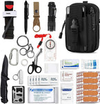 Emergency Survival Gear Military Medical First Aid Kit- Camp Essentials - camping Victorious Active