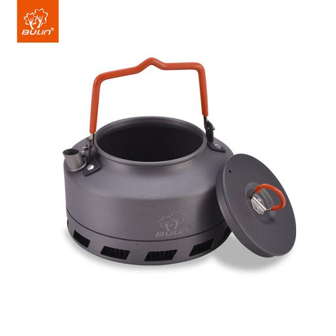 Bulin Heat Exchanger Kettle Camping Tea Pot Outdoor Kettle 1.6L BL200-L2 - camping Victorious Active