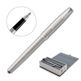 Metal Pen Rollerball Parker Sonnet - Brushed Stainless CT