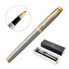 Metal Pen Rollerball Parker IM - Brushed Stainless GT