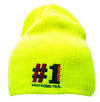 Luminescent Cable Knit Beanie Deep Fit