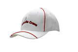 Brushed Heavy Cotton Cap with Piping on Crown & Peak