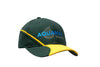 Brushed Heavy Cotton Cap with Crown & Peak Embroidery & Peak Insert