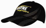 Brushed Heavy Cotton Cap with Tyre Tracks