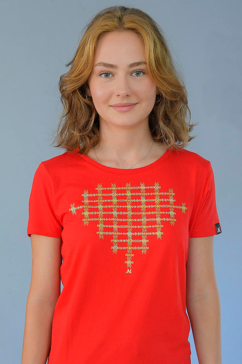 T-SHIRT JEWERLY RIBBONS JM