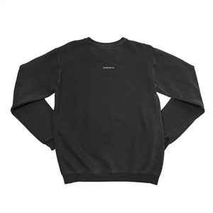 SIZE AWESOME Unisex Sweatshirt, Black