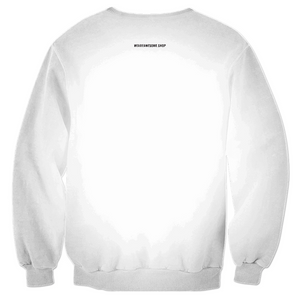 I AM AWESOME Unisex Sweatshirt, White