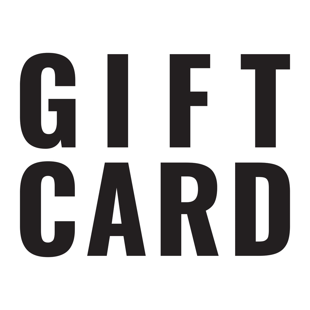 AWESOME Gift Card