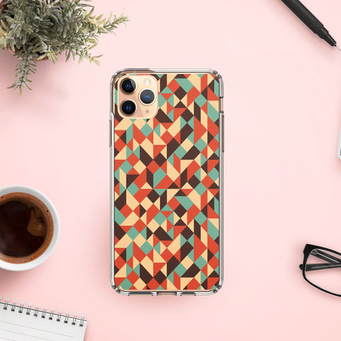 Abstract geometric Phone cases for iphone 7 , 8 , SE , X , XR , 11 , Xr , 11 Pro , 11 Pro Max , Gift for her , gift for him
