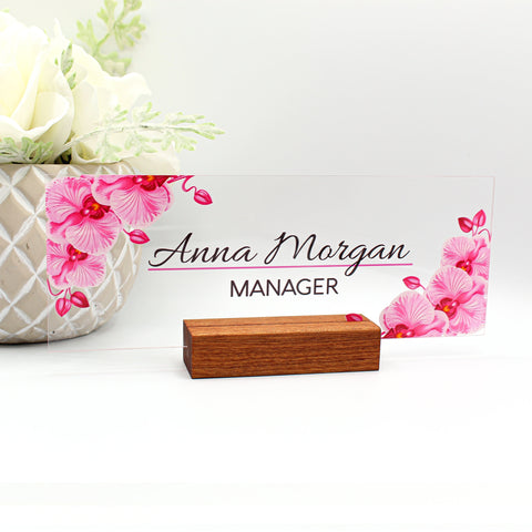"women office, nameplates for desks, nameplates classroom, desk decor, the office, printable wall art, desk accessories, office gift 8""x3"""